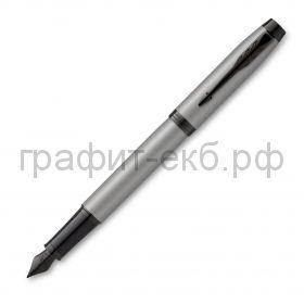 Ручка перьевая Parker IM Achromatic матовый серый 2127619
