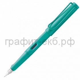 Ручка перьевая Lamy Safari аквамарин EF 021