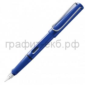 Ручка перьевая Lamy Safari синяя M 014