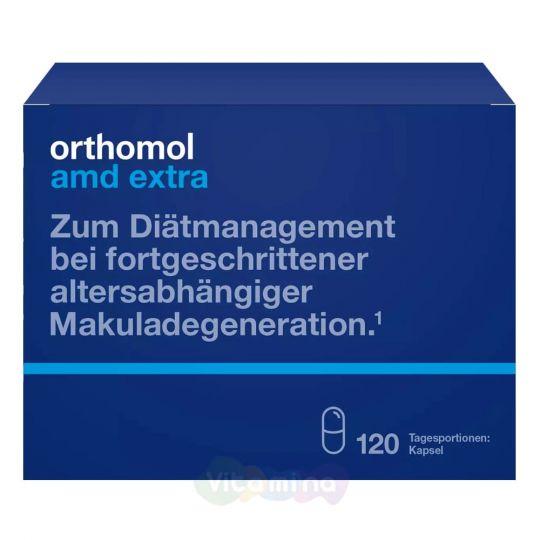 Ортомол АМД Экстра Витамины для глаз, 120 шт