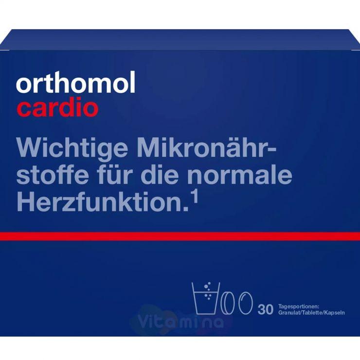 Ортомол Кардио Нормализация давления, работы сердечной мышцы и сосудов