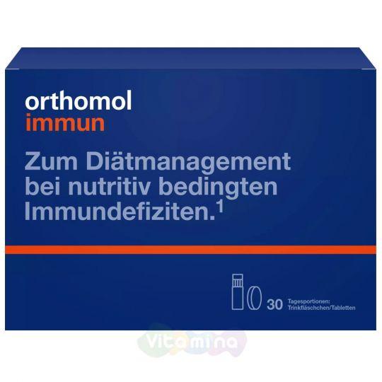 Ортомол Иммун Инновационный препарат для поддержания иммунитета (бутылочка+таблетка)