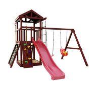 Деревянная детская площадка IgraGrad Панда Фани Gride