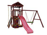 Деревянная детская площадка IgraGrad Панда Фани Nest