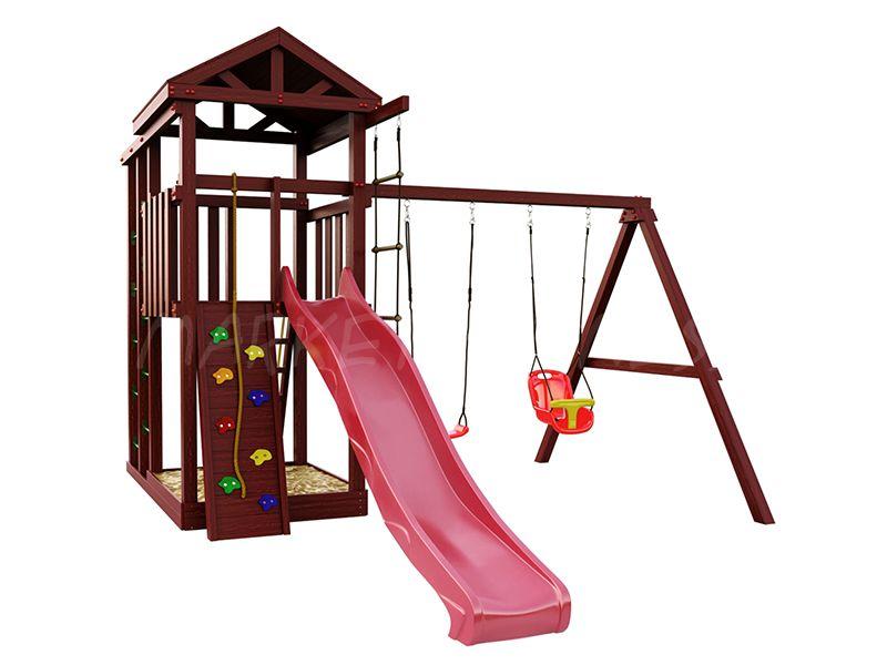 Деревянная детская площадка IgraGrad Панда Фани Fort