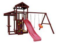 Деревянная детская площадка IgraGrad Панда Фани Picnic