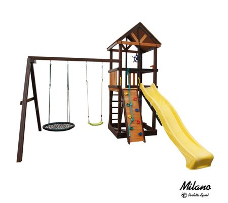 Детский игровой комплекс Perfetto sport Milano качели овал