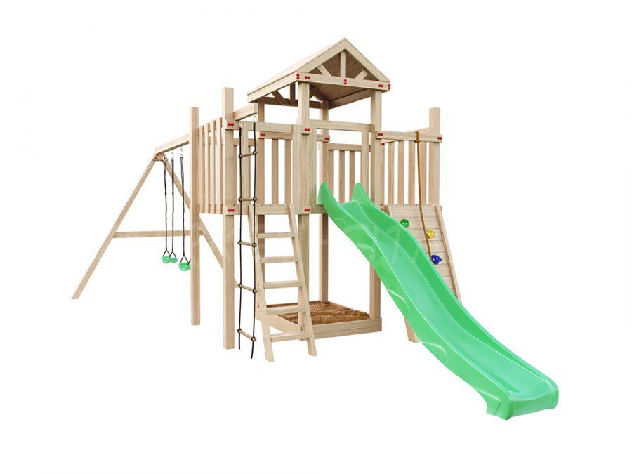 Детская деревянная площадка IgraGrad Панда Фани Макси