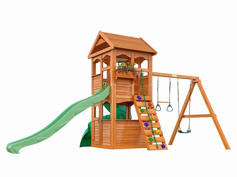 Детская площадка IgraGrad Клубный домик с трубой