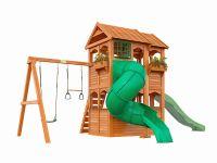 Детская площадка IgraGrad Клубный домик 2 с трубой