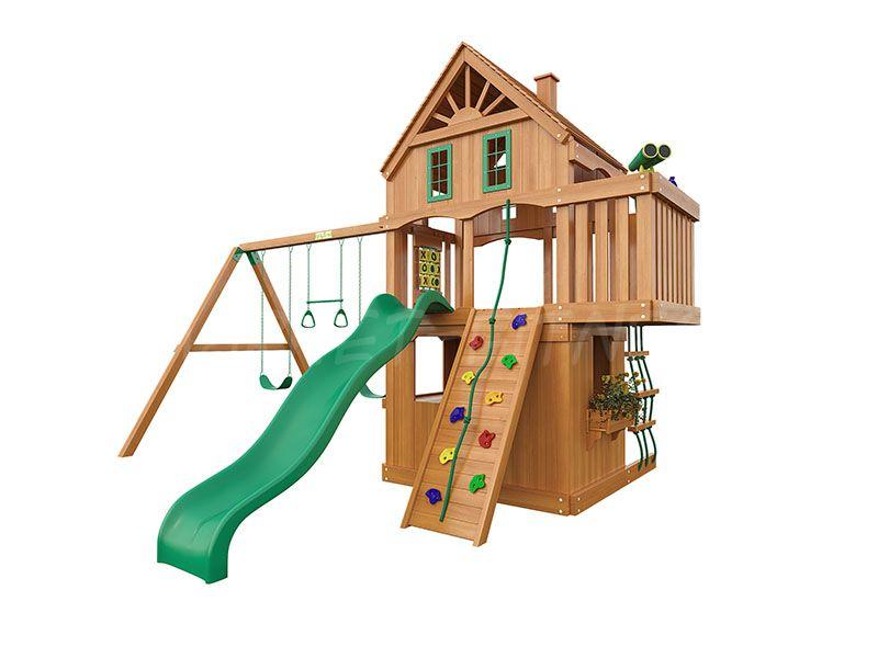 Деревянная детская площадка IgraGrad Шато 2