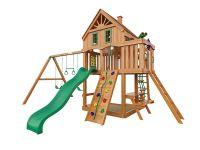 Деревянная детская площадка IgraGrad Навигатор (домик)