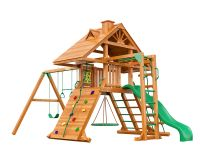 Деревянная детская площадка IgraGrad Крепость Фани с рукоходом (дерево)