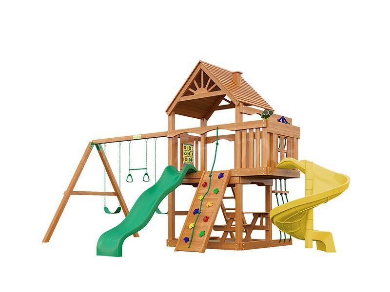 Деревянная детская площадка IgraGrad Шато Sun (дерево)