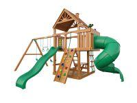 Деревянная детская площадка IgraGrad Шато с трубой (дерево)