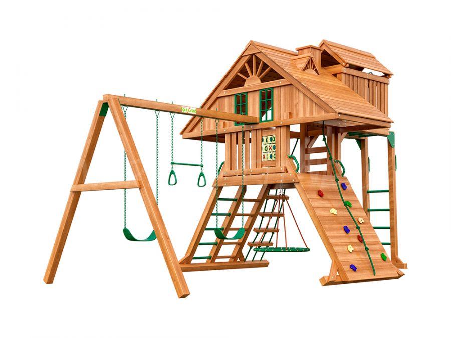 Деревянная детская площадка IgraGrad Крепость Фани Deluxe