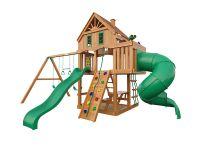 Деревянная детская площадка IgraGrad Шато с трубой (домик)