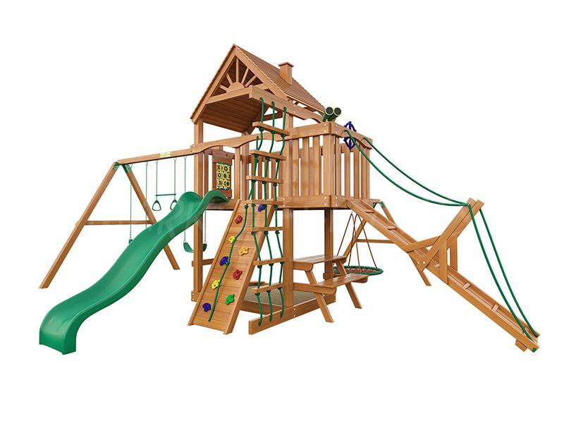 Деревянная детская площадка IgraGrad Пиратский дом (дерево)