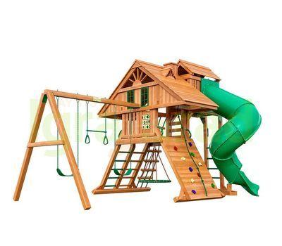 Деревянная детская площадка IgraGrad Крепость Фани Deluxe 2