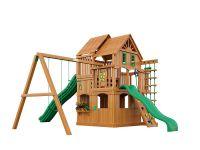 Деревянная детская площадка IgraGrad Великан 2 (домик)