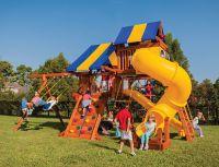 """Детская площадка Backyard Adventures """"Монблан 5.5 Делюкс"""""""