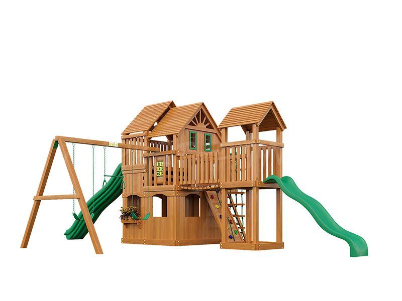 Деревянная детская площадка IgraGrad Великан 2 (макси)