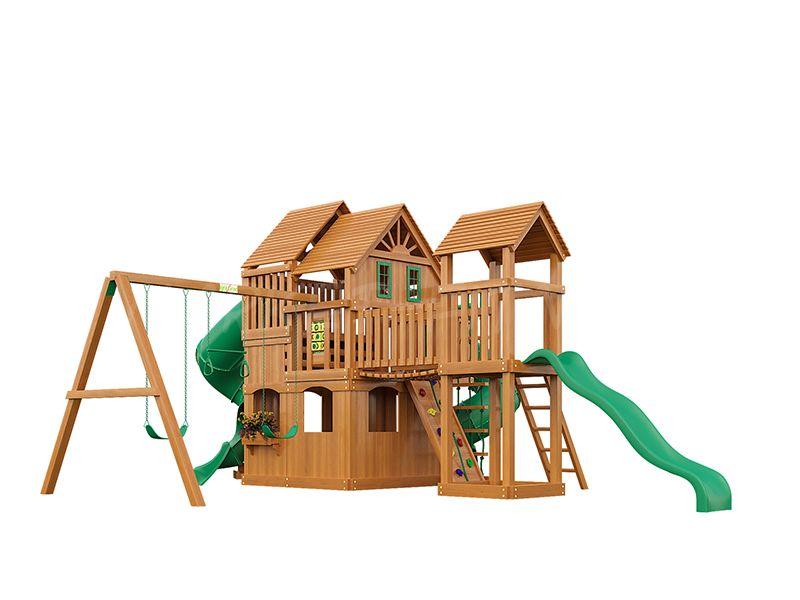 Деревянная детская площадка IgraGrad Великан 3 (макси)