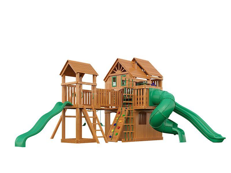 Деревянная детская площадка IgraGrad Великан 4 (макси)