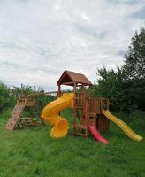 Детская площадка Выше Всех Маугли 1 с винтовой горкой