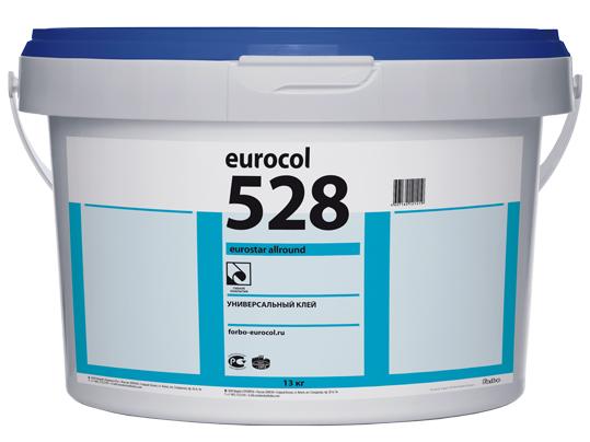 Клей для LVT и других виниловых покрытий 528 Eurostar Allround (20 кг)