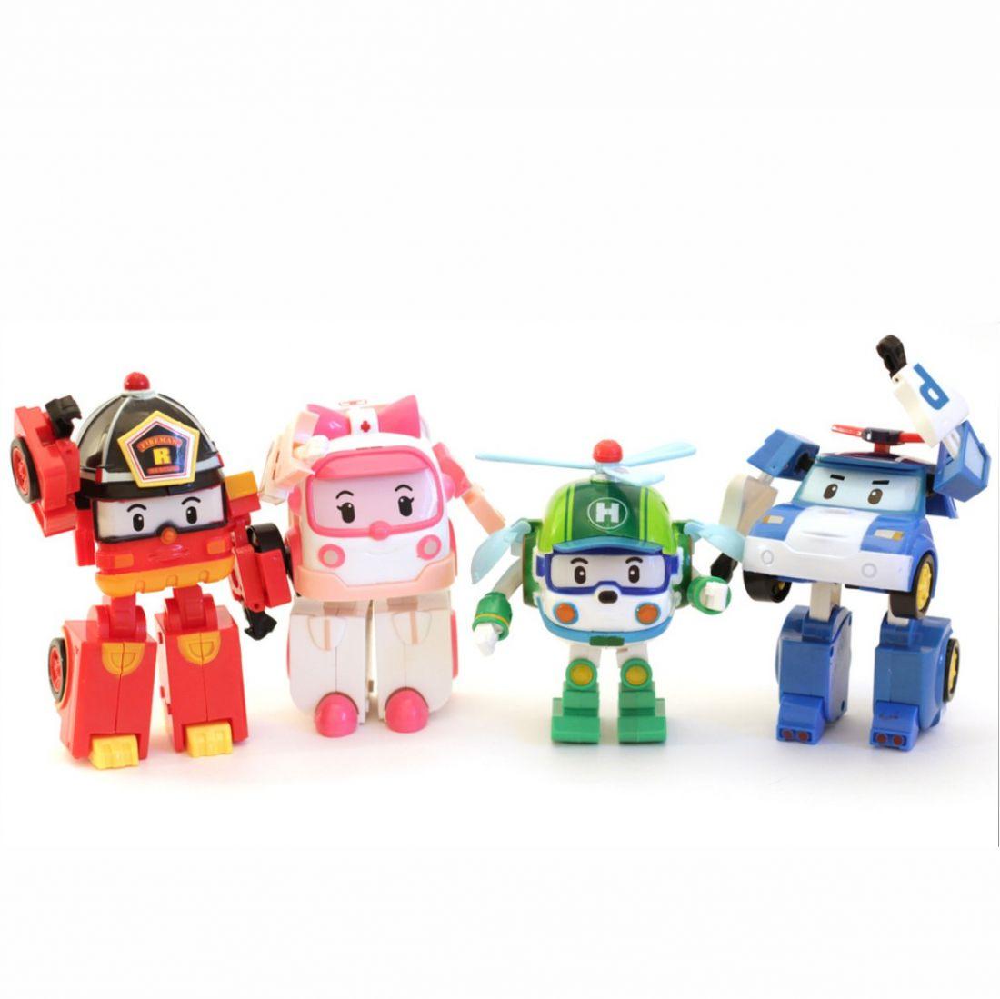 Поли робокар 6 персонажей мультфильма