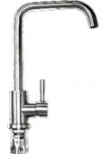 Смеситель EL-702 (тонкая ручка) для кухни.(Нержавейка SUS-304)