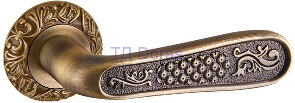 Ручка раздельная VIRGINIA SM MAB-6 темная бронза