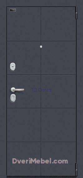 Стальная дверь Porta S 10.П50 Graphite Pro/Nordic Oak