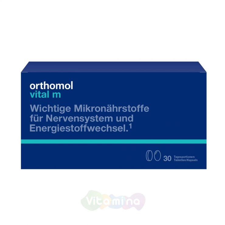 Ортомол Витал М Для представителей сильной половины, 30 шт (капсулы+таблетки)