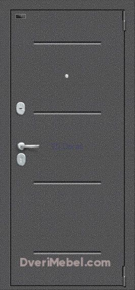 Стальная дверь Porta S 104.К32 Wenge Veralinga
