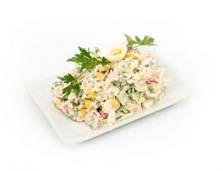 Салат Крабовый с салатом