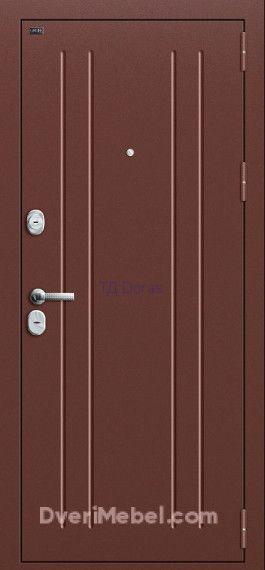Входная дверь Groff Т2-232 Brown Oak