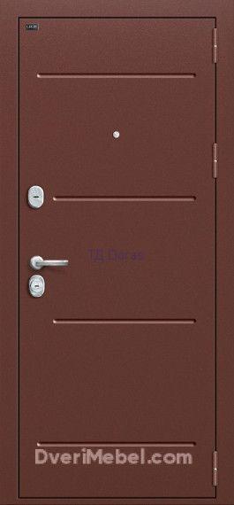 Стальная дверь Groff T2-223 Wenge Veralinga/Black Star