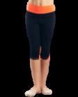 Лосины со вставками Rialitta оранжевые
