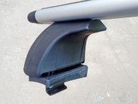 Багажник на крышу Kia Rio 2011-17, Евродеталь, крыловидные дуги