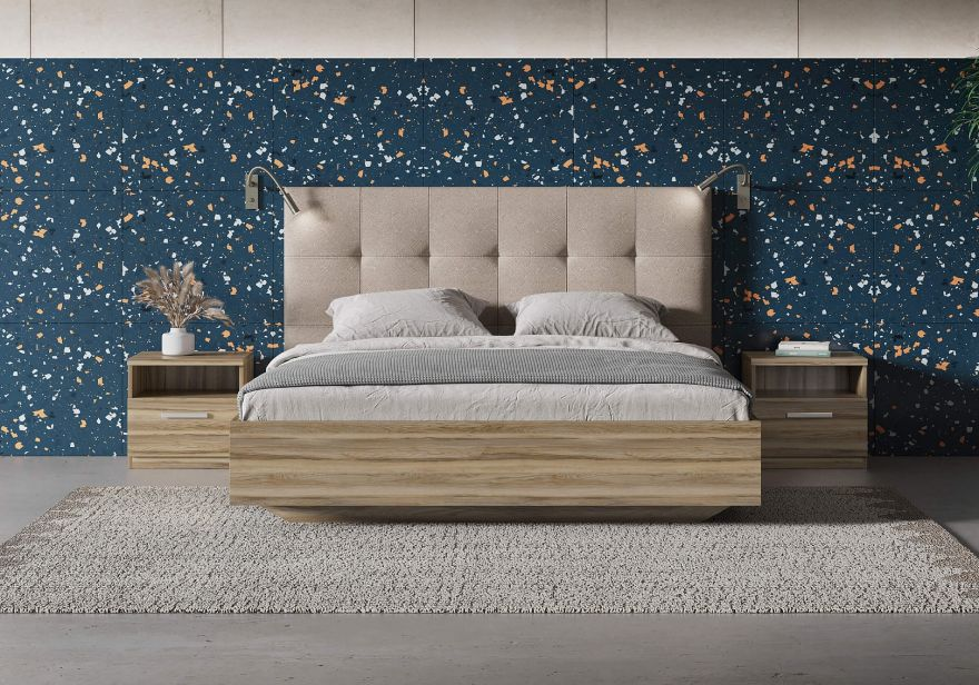 Кровать Vena (ясень ориноко) | Сонум