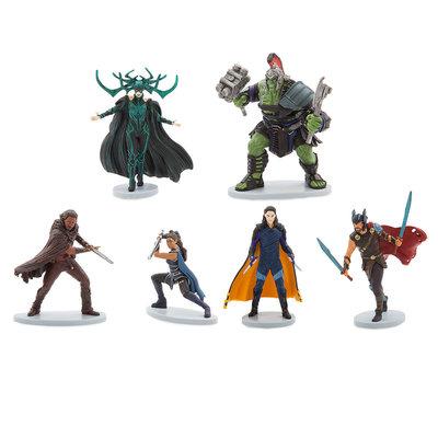 Игровой набор из 6 фигурок Тор Рагнарок - Марвел Дисней
