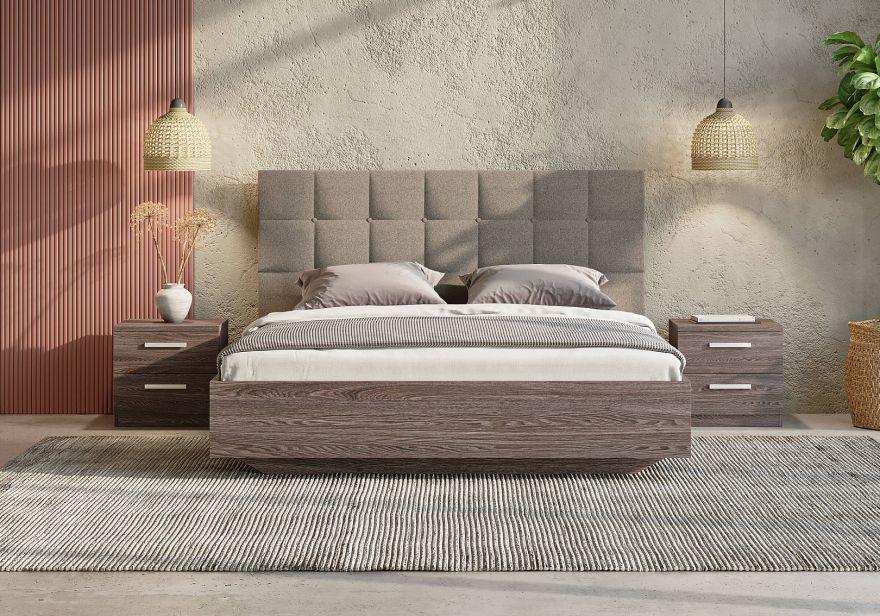 Кровать Luiza (ясень анкор) | Сонум