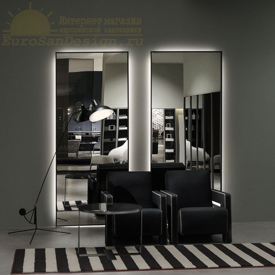 Зеркало с подсветкой Antonio Lupi Bespoke Bsk90W