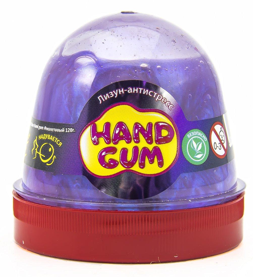 Слайм Mr.Boo Hand gum Фиолетовый, 120 гр