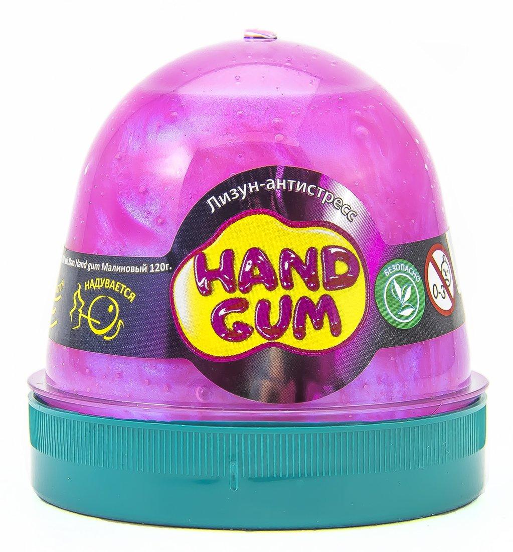 Слайм Mr.Boo Hand gum Малиновый, 120 гр
