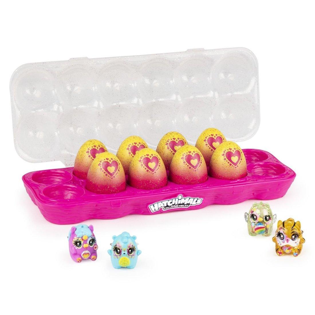 Хэтчималс 7 набор фигурок Дюжина яиц в ассорт.