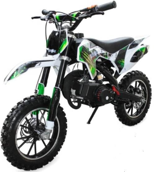 Детский мотоцикл бензиновый Motax Мини кросс 50 cc с электростартером