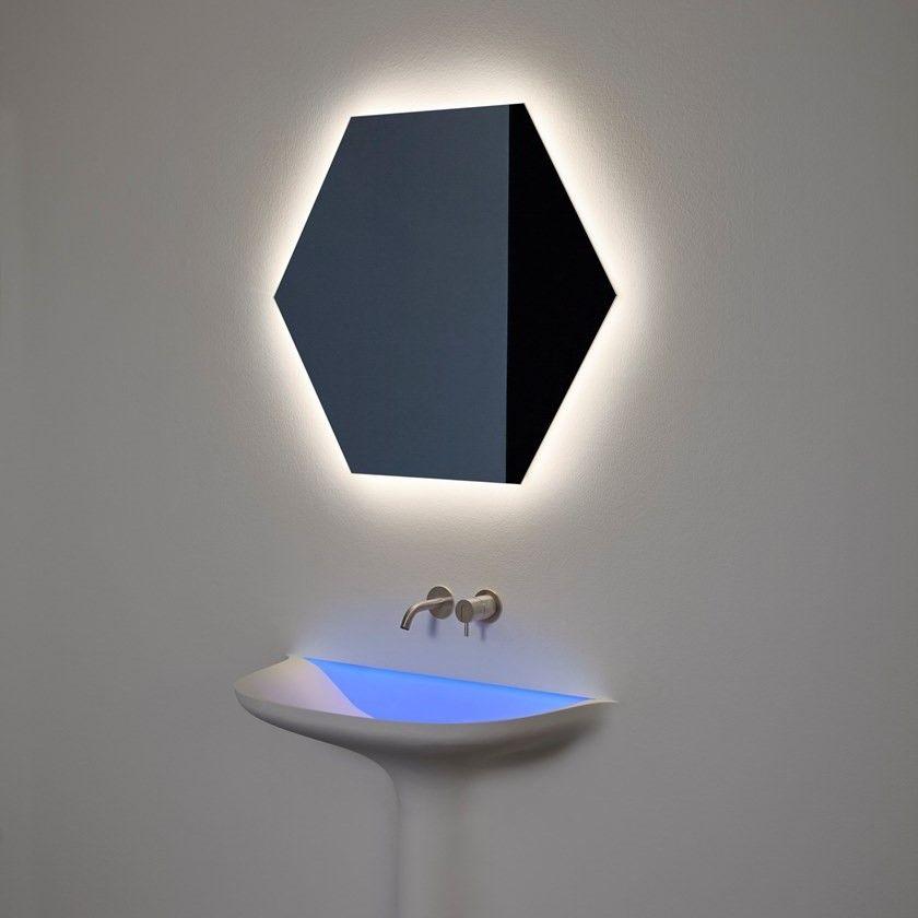 Зеркало с подсветкой Antonio Lupi ModuloW